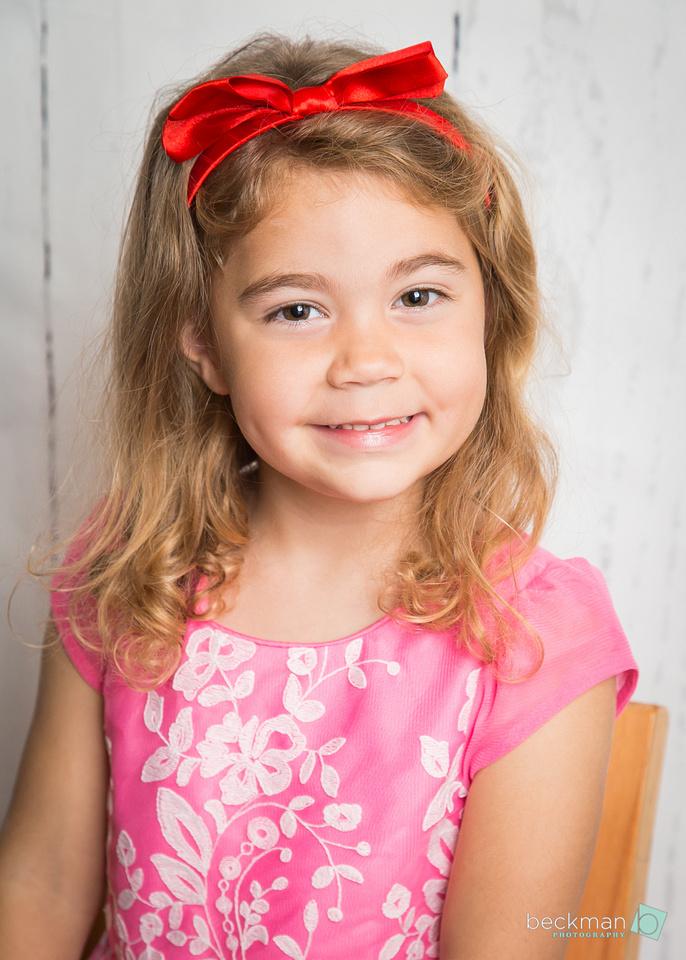 Preschool Portrait in Savannah, Texas